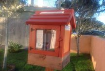 The Little Free Library / The little free library dot org, take a book, leave a book, community building, creative ideas, woodworking  / by Margaret Ruby
