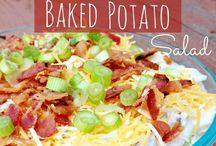 Potato Salad / Homemade potato salad recipes. / by Danielle Anderson