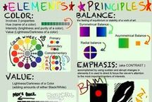Art- Elements and Principles of Art/Design / by Tammy Kliewer