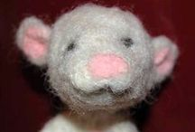 Needle felting / I think i have found my new hobby <3