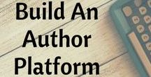 How to build an author platform / Author marketing without breaking the bank.  Free author promotion ideas. #authormarketing