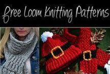 Loom knitting & Latch Hook Projects / Loom knitting ideas and patterns and Latch hook projects