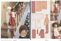 Doll & Toy Patterns / Doll and accessories and Stuffed Toy patterns