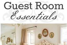 Guest Bedroom / How to decorate a Guest Bedroom.