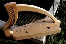 Celtic Harp / How to make and play a Celtic Harp.