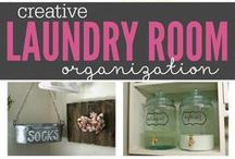 Laundry Room / How to decorate and organize Laundry Room