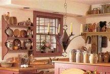 Kitchen / Kitchen decoration and organization