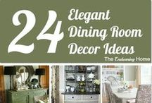 Dining Room / Dining Room decoration and Organization