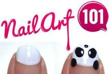 Nail Art / Beautiful designs and techniques for nail art.