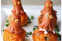 Cute Food / Help kids eat and enjoy food or simply have fun ;)