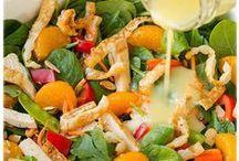 Salad Recipes / Easy and original salad recipe ideas.