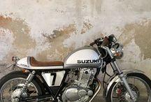 Cafe racer / Cafe racer Suzuki tu250x