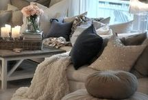 The Comforts of Home / Home decor, tips and tricks to spruce up your space!