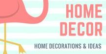 Home Decor / ☑ If you would like me to review your product, feel free to reach me at Closetsamples@gmail.com  Home decor, home decorating, beautiful home, anything having to do with decorating around the home!