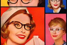 Spectacles / vintage photos and illustrations of very cute girls who wear glasses