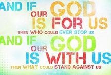 """For the Soul / """"And if our God is for us, who could ever stop us?"""" / by Kate Meeder"""
