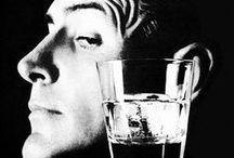 The Drink / vintage alcohol liquor beer cocktails advertising illustration
