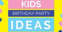 Kids Party Ideas / ☑ If you would like me to review your product, feel free to reach me at Closetsamples@gmail.com