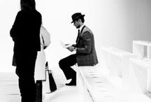 "SOLITUDE | WITHIN VISIBILITY / David Gandy as the object: exploration of solitude within visibility through moments of Gandy's life. The question of the ""pose"" is left to the viewer. / by VANESSA 