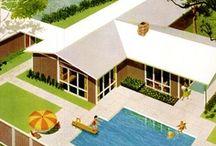 Suburbia / mid-century modern exteriors