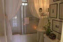 Bathroom ideas / by Tina B.
