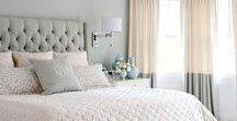 Master Bedroom / Great ideas for the dream master bedroom!  DIY ideas on a budget, decorations, paint colors, bedding and furniture.  All combined to make a romantic and relaxing space to sleep!  Some Master bedroom closet ideas are included too!