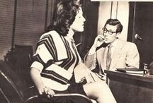 Office Party / vintage photos and pulp illustration of naughty office romances and workplace swingers