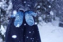 Winter Wonderland / Warm cocoa, comfort food, cozy sweaters - everything wonderful about winter!