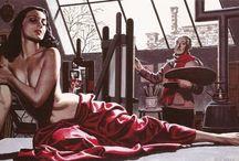 Art Racket / Illustration Pulp Covers Art Artists & Models Art Studio Pulp
