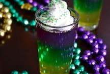 Mardi Gras / Mardi Gras or PARTY Gras?!  Recipes and decorations to help you get the good times rolling!