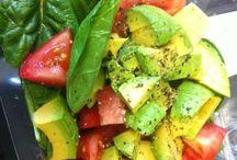 Light choices (salads) / by Tina B.