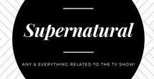 Supernatural / ☑ If you would like me to review your product, feel free to reach me at Closetsamples@gmail.com  I am crazy about the TV Show, Supernatural. So naturally, I had to make a board dedicated to it!
