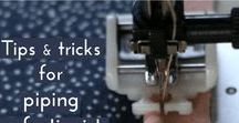 Sewing garments and tips / Garment pattern, tutorial and tips to become a great seamstress