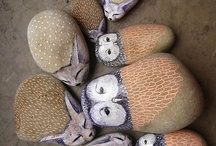 Decorated rocks / by Julie Garrett