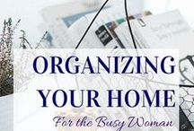 Organising your Home / Inspiration on how to create a clean and organised home