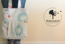 EchoLand Bags / by Sarah Defibaugh