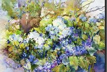 Aquarelles ♥ Watercolors / by Laurence Chaumuzeau