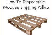 WOOD * SHOP / Re-purposed wood pallets
