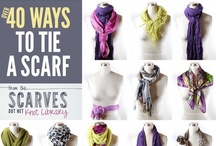 Scarves / by The Chic Orchid