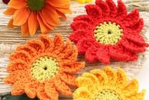 Crochet Flowers & Stars / by Jeremy N Molly Harward