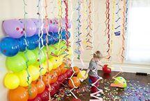 Holidays, birthdays, parties, anniversaries
