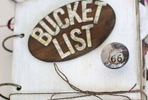 Bucket List Top 10 / by Amy