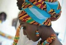 Headwraps l Fashion l African / Inspiration for the african women wanting to showcase her heritage and fashion sense by using a headwrap. Doeks, Iduku