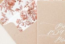 Weddings:  Rose Gold / Rose gold inspiration for your wedding day.