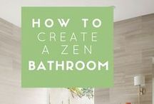 Bathroom Decor Inspiration / Ideas for making your bathroom the sanctuary it deserves to be #BEINSPIRED