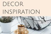 DECOR INSPIRATION / Looking for decorating ideas?  Check out this decor board