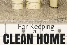 I Keep a Mean Clean Home / by Amy