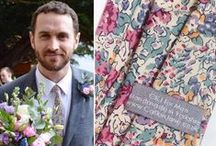 Real Weddings / A few links and images from real weddings where CatkinJane has supplied the ties, bow ties and more!