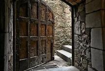 portals, doorways, stairways, magic