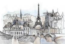 Paris, tres romantique! <3 / paris is always a good idea. ALWAYS.